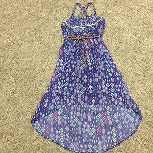 Xhilaration Girl Maxi Dress Size L (10/12)